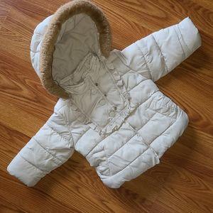 🐠3/$25 Baby GAP puffer coat, size 18-24mos